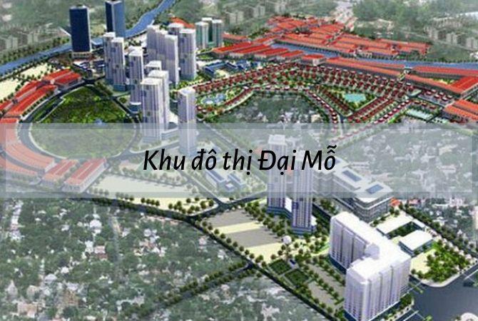 Dự án khu đô thị Đại Mỗ   KĐT Kim Chung Di Trạch