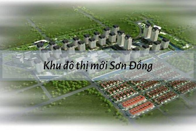 Dự án khu đô thị mới Sơn Đồng – KĐT Kim Chung Di Trạch