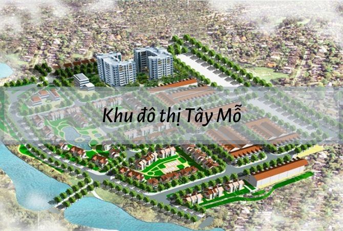 Dự án khu đô thị Tây Mỗ – Khu đô thị Kim Chung Di Trạch