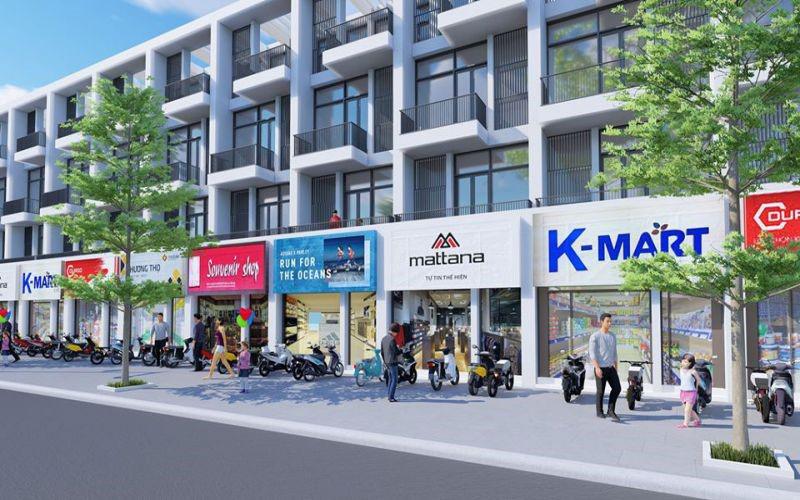 Thiết kế shophouse khu đô thị kim chung di trạch