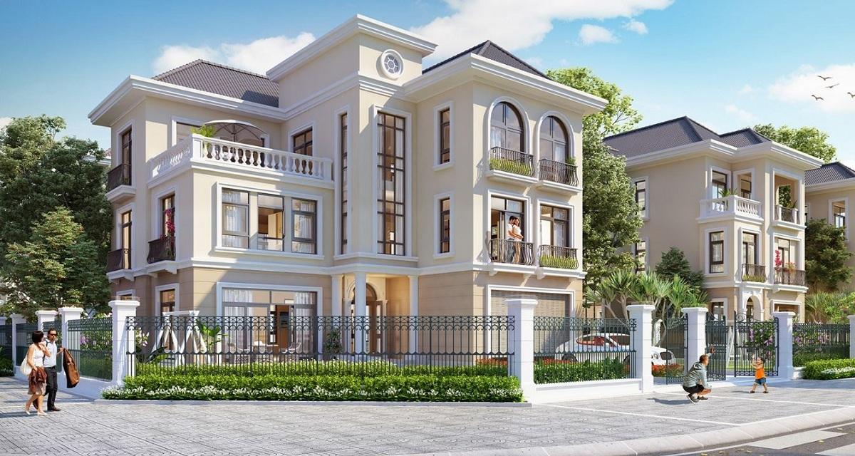 Biệt Thự Tại Khu Đô Thị Kim Chung Di Trạch